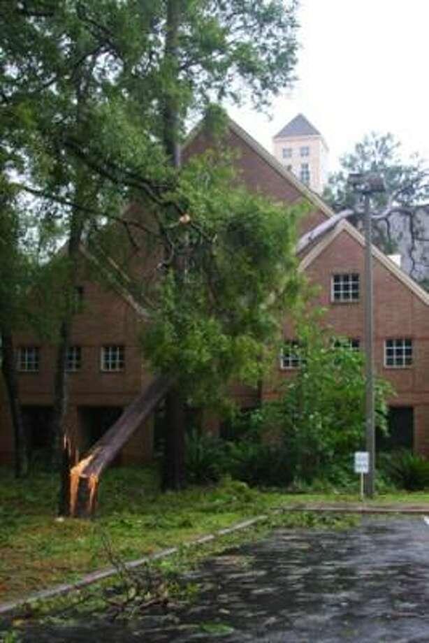 Good Shepherd Church on Woodland Hills Drive. Photo: Twilightimagingnet, Chron.commons Member