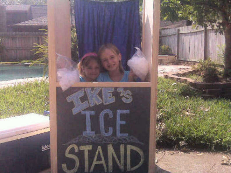 Two young entrepreneurs who are using their time away from school wisely and banking for their colle
