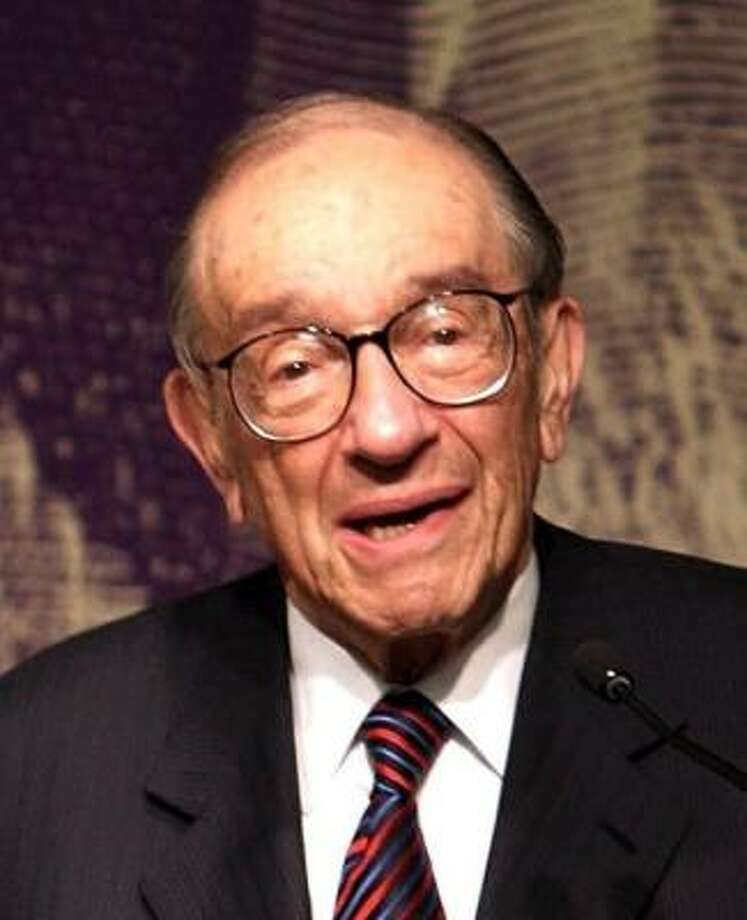 Alan Greenspan says he favors a tax on gasoline to help curb demand. Photo: Spencer Platt, GETTY IMAGES