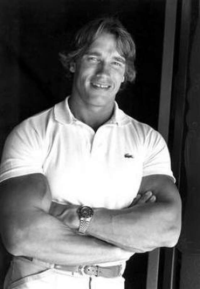 Arnold Schwarzeneggerbecame the youngest person to be named Mr. Olympia (23) in 1970 and then won the competition 6 straight years.  He was elected governor of California in 2003, and rumor has it that he will run for U.S. Senate in 2010. Photo: Wally Fong, AP