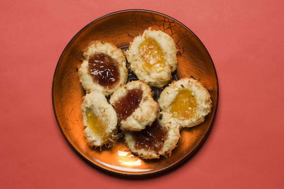 Jam Thumbprint Cookies Photo: Buster Dean, Chronicle