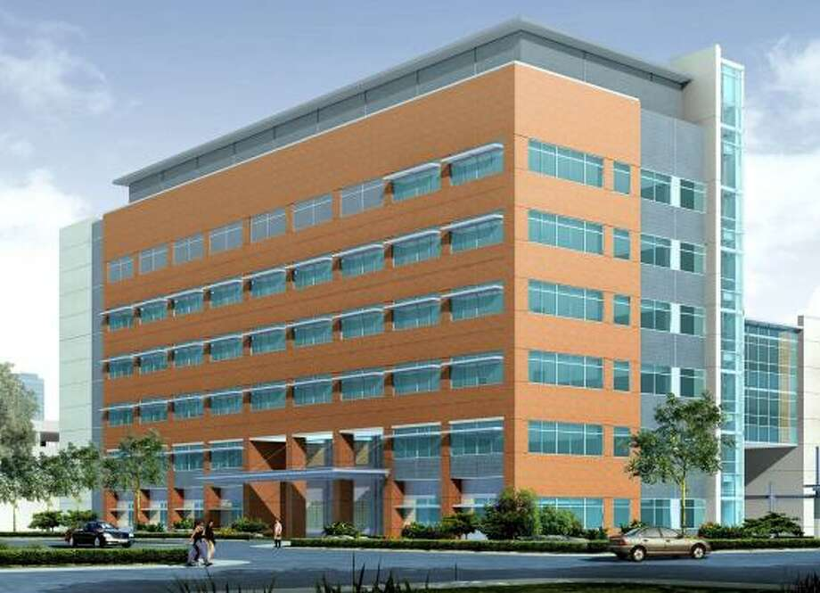 A rendering shows the University of Texas Biomedical Research and Education Facility, scheduled to open in 2009.