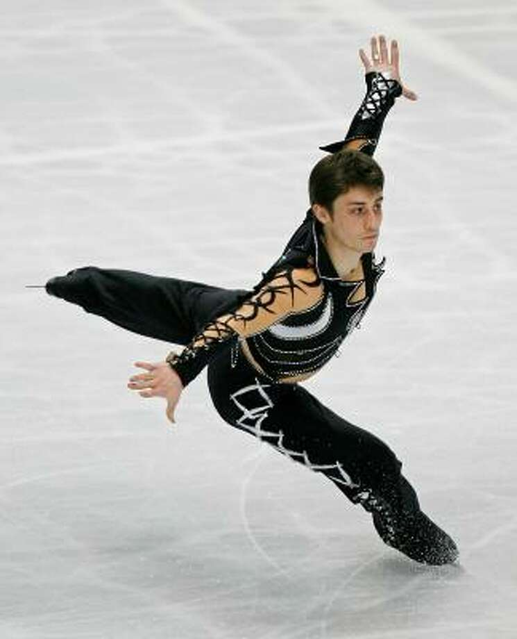 Brian Joubert wins France's first world title in men's figure skating in 42 years. Photo: TORU YAMANAKA, AFP/Getty Images