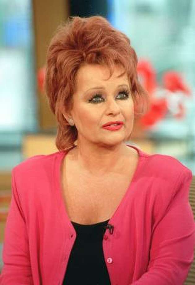 Tammy Faye Bakker Messner, shown on Good Morning America in 2000, was diagnosed with colon cancer in 1996. Photo: IDA MAE ASTUTE, ABC