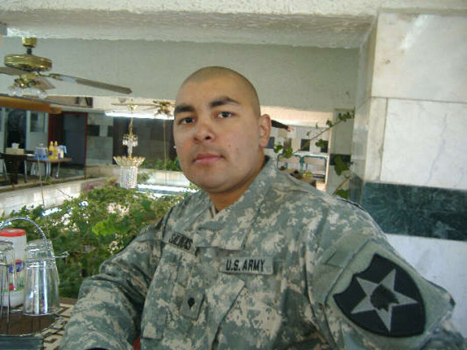 Spc. Eric D. Salinas will be buried in the Rio Grande Valley, where he was born. Photo: Family Photo