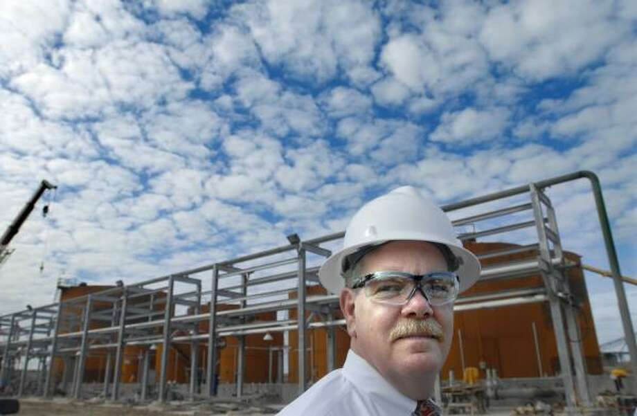 Rick Zalesky, Chevron's vice president of biofuels, said the Galveston plant will give his company experience producing the alternative fuel on a broad scale. Photo: CARLOS JAVIER SANCHEZ, FOR THE CHRONICLE