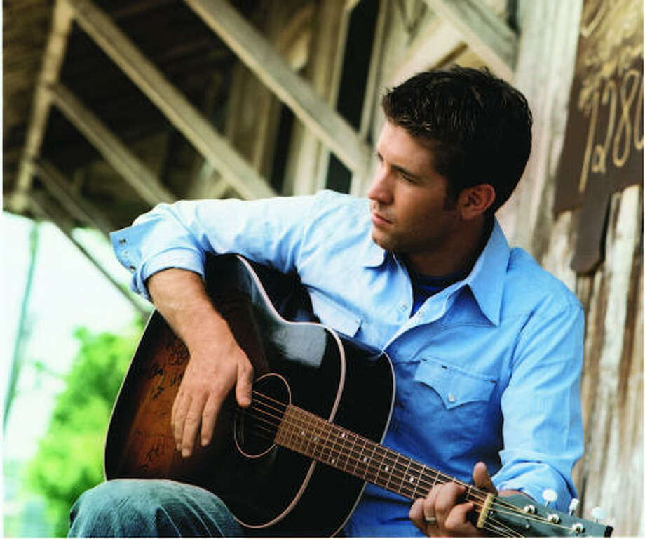 Josh Turner's friendship with country music legend Eddy Arnold encouraged him to make sure his repertoire included love songs, but Turner's music also features works of whimsy and spirituality. Photo: MCA Nashville