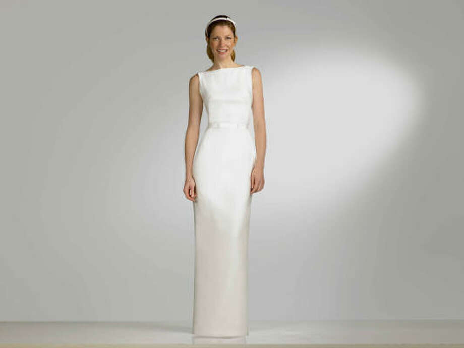 Isaac Mizrahi for Target has a new collection of elegant and sophisticated wedding dresses. Photo: Target