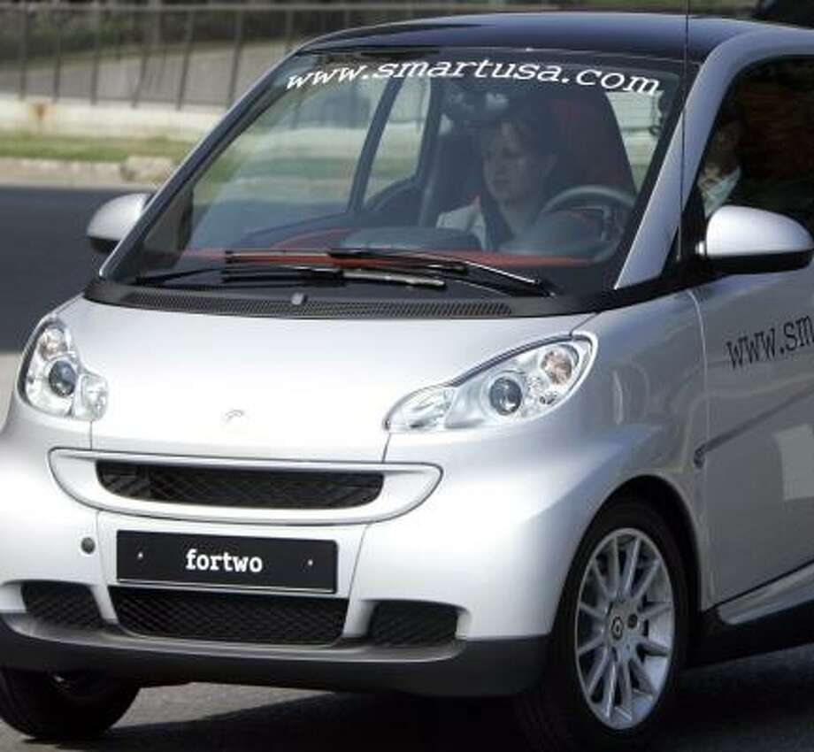 The Smart car debuts in January. Photo: Carlos Osorio, ASSOCIATED PRESS
