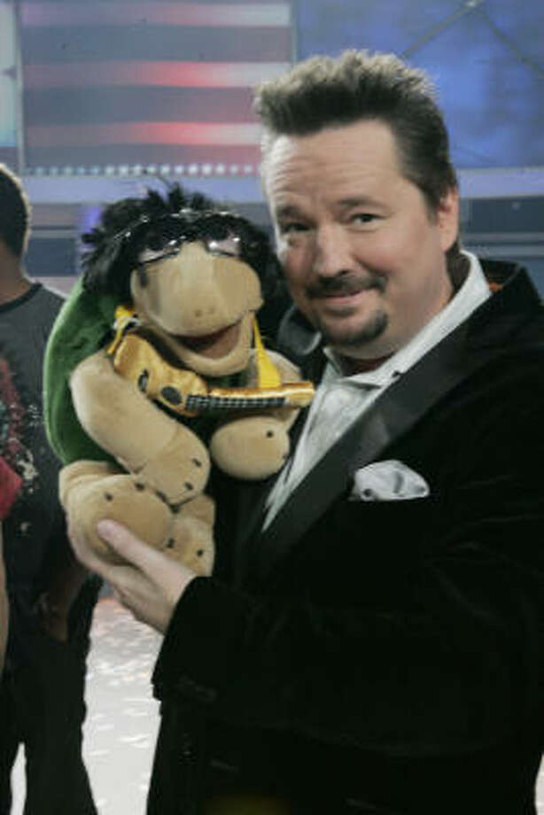 Terry Fator was named the winner of NBC's America's Got Talent in the television variety talent contest's second season finale Aug. 21, 2007. Photo: Virginia Sherwood, AP