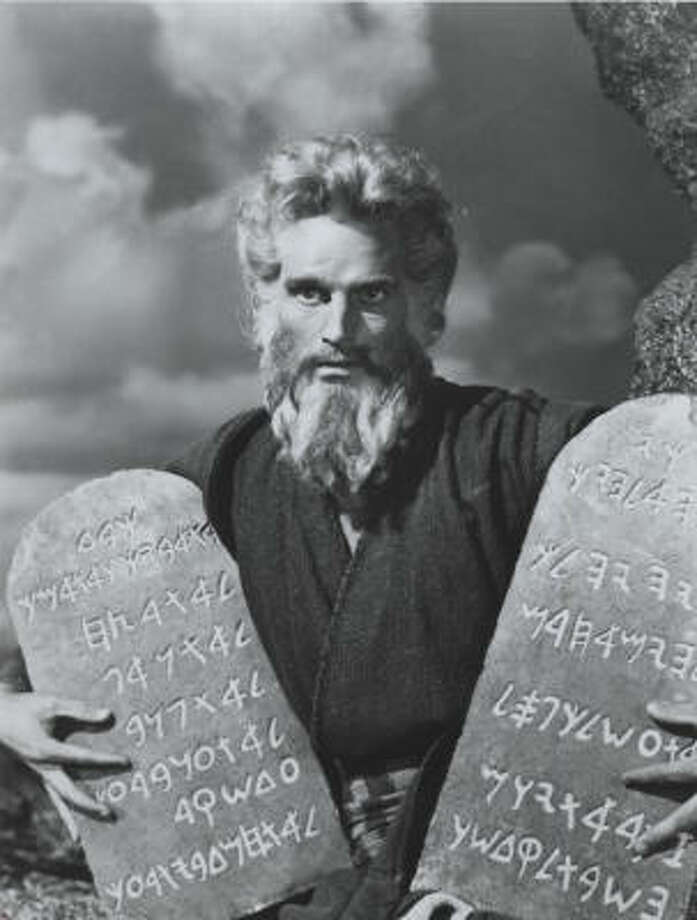 """""""The Ten Commandments"""" (1956)Total earnings: $122,700,000Starring: Charlton Heston, Anne BaxterPlot: This film portrays the Biblical story of Moses, who came down the mountain with the commandments he received from God. This is by far one of the most classic Christian films to date."""