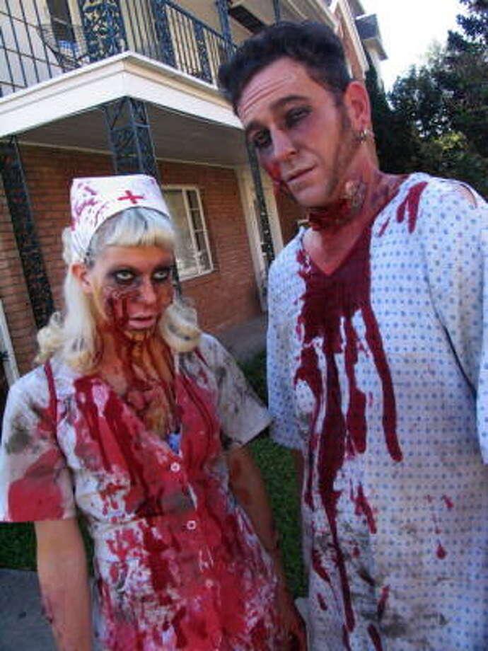 """Cindy """"Danger"""" Jones and Neil DeBerry Photo: Jordan Graber, For The Chronicle"""