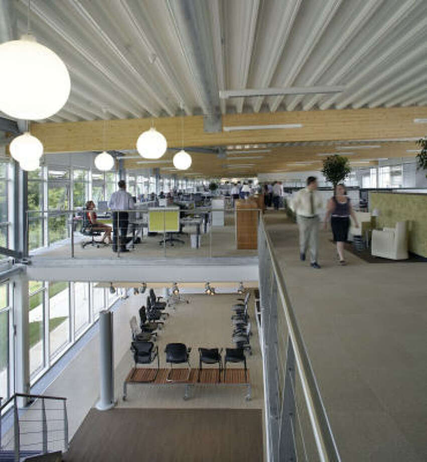 No. 78 Gensler ranked as the 78th-best workplace in the nation. Photo: Gensler
