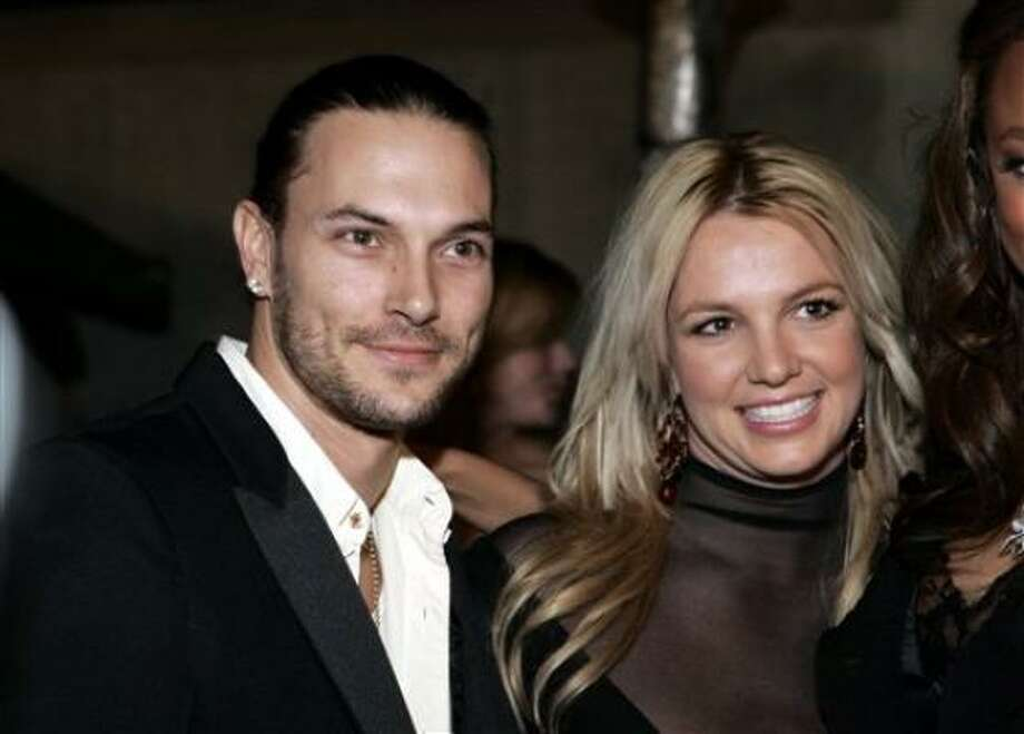 A child custody order in Britney Spears and Kevin Federline's divorce is sealed for now. Photo: DANNY MOLOSHOK, Associated Press