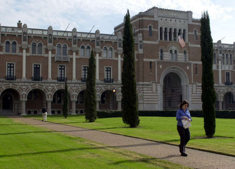 Rice University received a record number of applications for the Fall 2017 semester.>> See secrets and facts you didn't know about the univrsity. Photo: PAT SULLIVAN, Associated Press