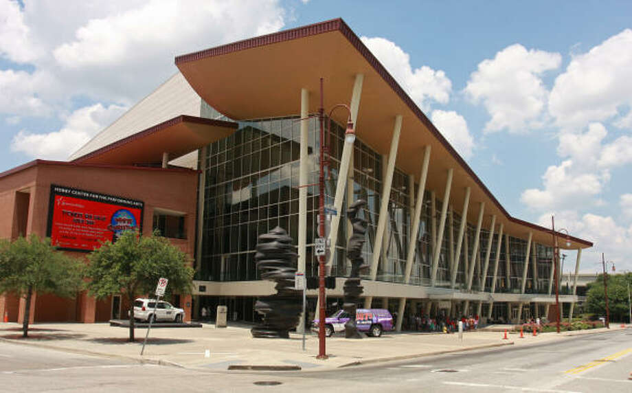 The Hobby Center at 800 Bagby Photo: Gary Fountain, For The Chronicle