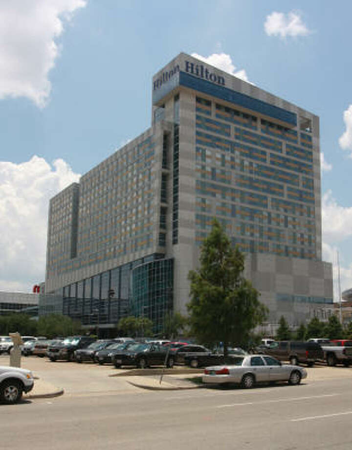 The Hilton Americas Hotel, 1600 Lamar Photo: Gary Fountain, For The Chronicle