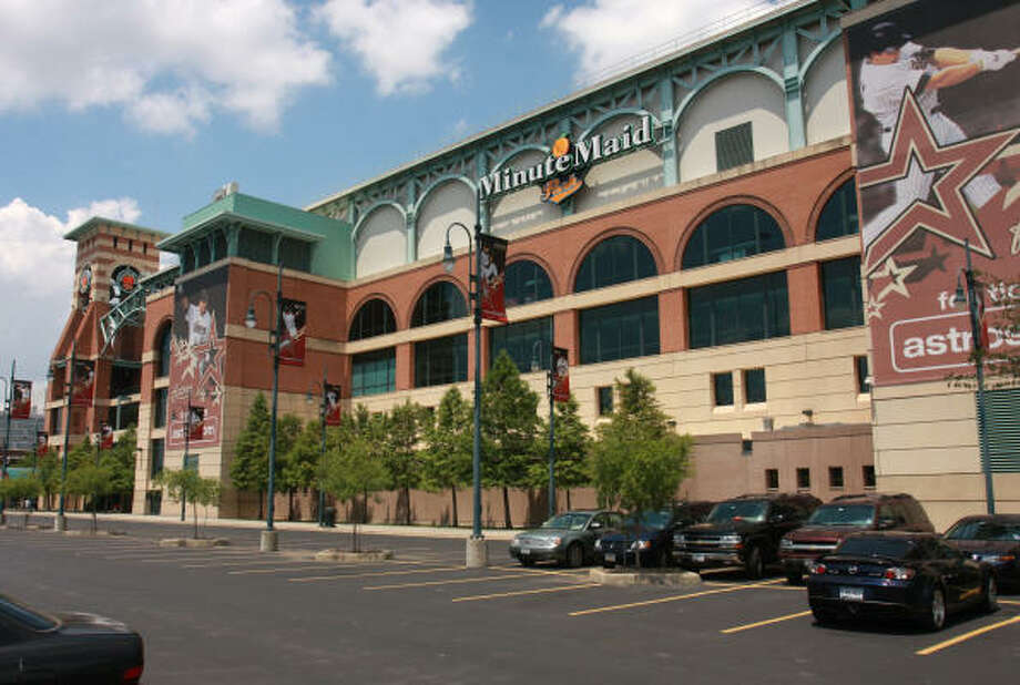 Minute Maid Park, formerly Enron Field, 501 Crawford Photo: Gary Fountain, For The Chronicle