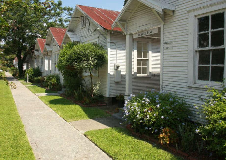 Project Row Houses, 2521 Holman Photo: Gary Fountain, For The Chronicle