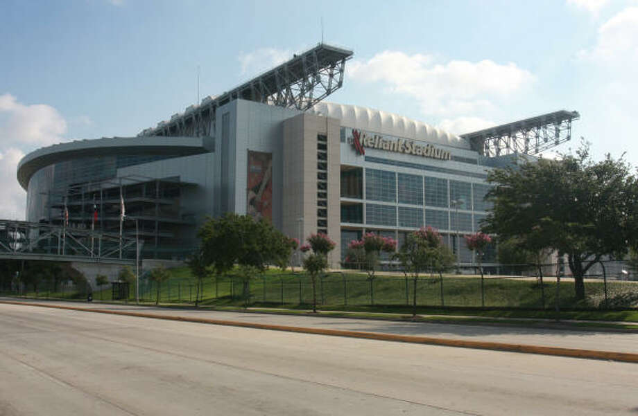 Reliant Stadium, 1 Reliant Park Photo: Gary Fountain, For The Chronicle