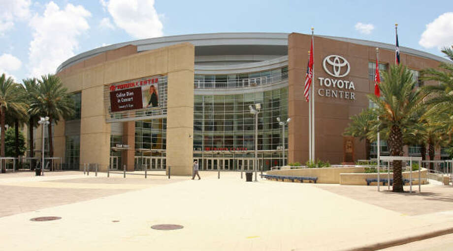 Toyota Center, 1510 Polk Ave. Photo: Gary Fountain, For The Chronicle