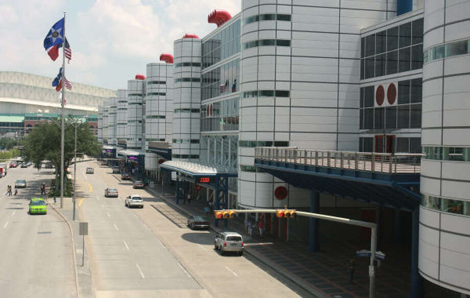 The George R. Brown Convention Center, 1000 Convention Center Blvd. Photo: Gary Fountain, For The Chronicle