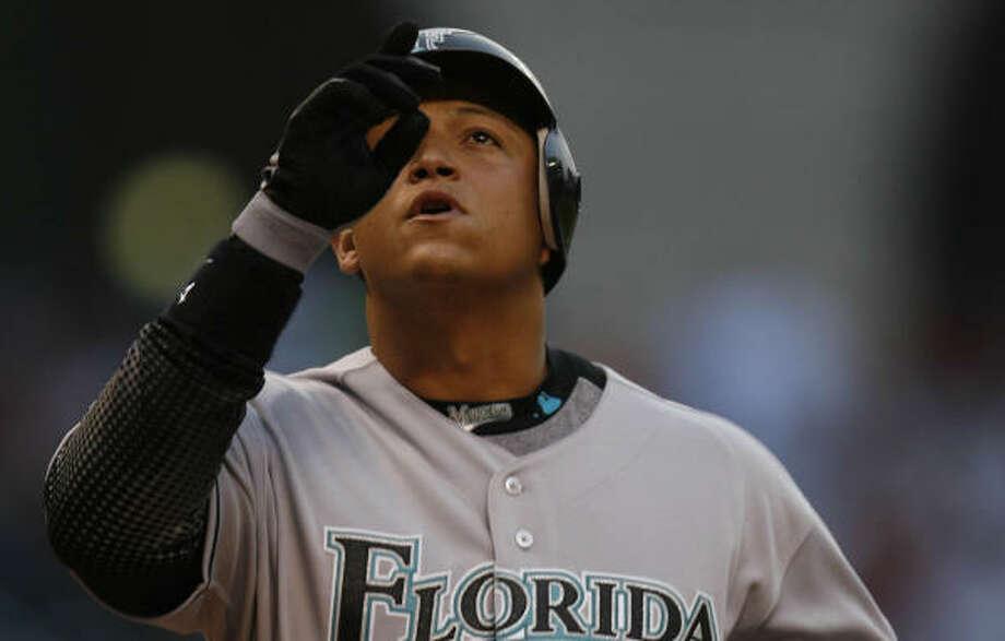 Miguel Cabrera hit .339 with 26 homers and 114 RBIs in 2006. Photo: KAREN WARREN, Chronicle