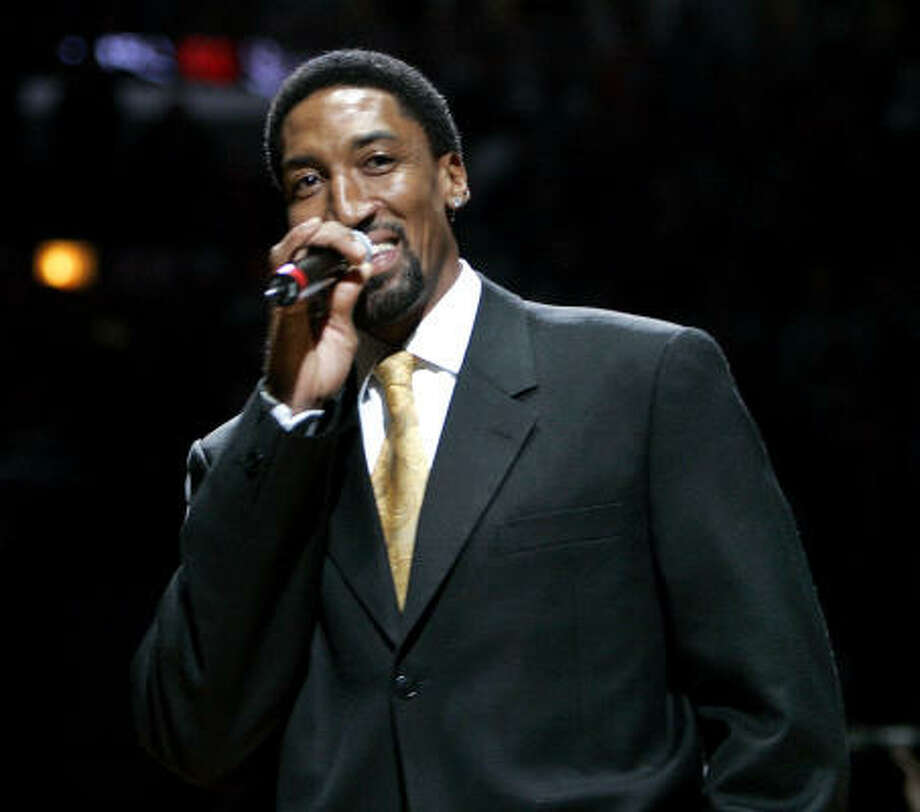 Between 2003 and 2005, former Chicago Bulls player Scottie Pippen received almost $79,000 in farm subsidies. Photo: JEFF ROBERSON, AP