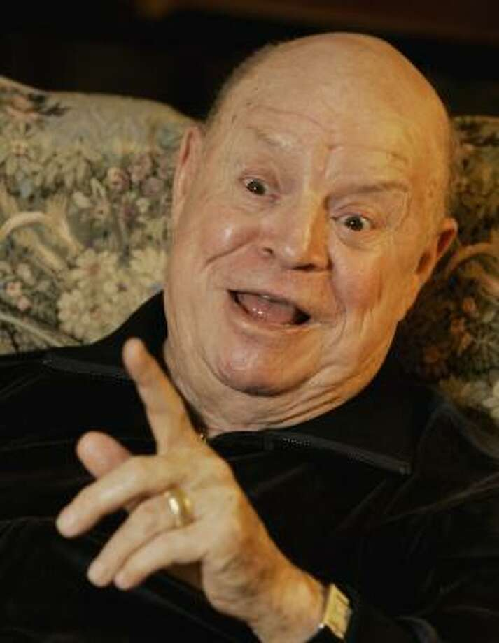 Comedian Don Rickles lets loose in his appropriately named Rickles' Book. Photo: RICHARD DREW, ASSOCIATED PRESS