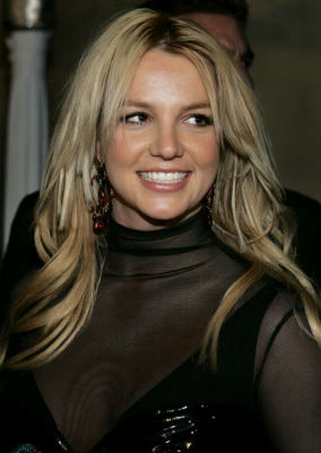 Britney Spears couldn't sit still for an interview. Photo: DANNY MOLOSHOK, AP File