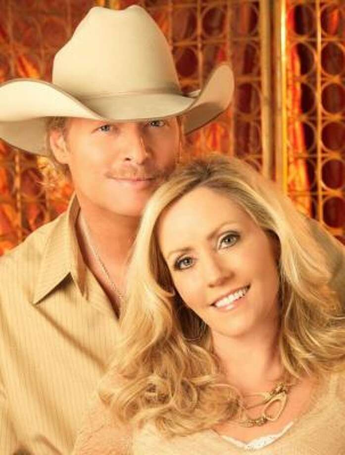 In a new book, Denise Jackson says that as she rebuilt her relationship with God, he rebuilt her marriage to country-music star Alan Jackson. Photo: Russ Harrington, ASSOCIATED PRESS