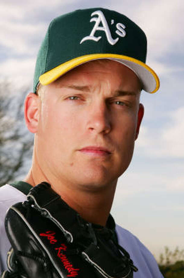 Joe Kennedy made his major league debut in June 2001 and made his last appearance in relief on Sept. 29 in a 5-3 win over Tampa Bay. Kennedy and his family still lived in the Denver area and had just bought a new house. Photo: Lisa Blumenfeld, Getty Images