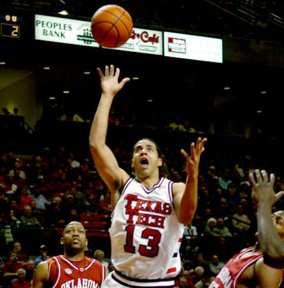 Decensae White (13) had six points and five rebounds for Tech. Photo: Joe Don Buckner, AP