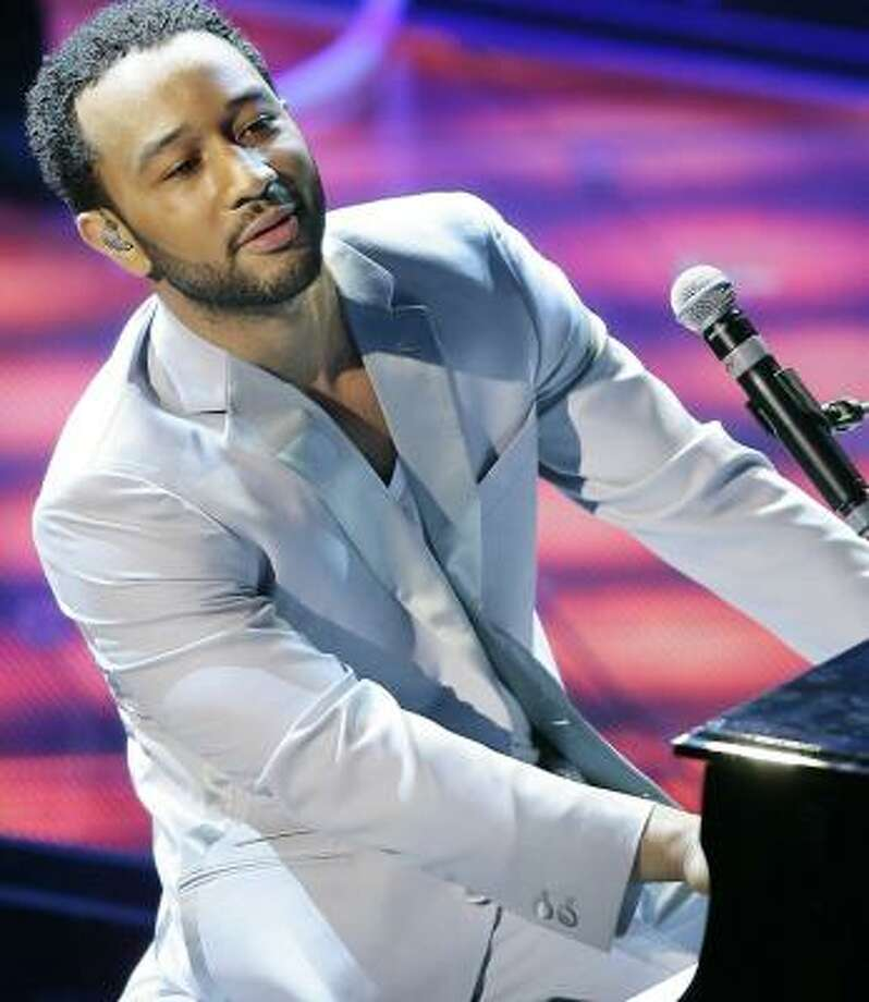 Singer John Legend will be among the performers at the 16th annual St. Lucia Jazz Festival, opening Friday and continuing throught May 13. Photo: LUCA BRUNO, ASSOCIATED PRESS