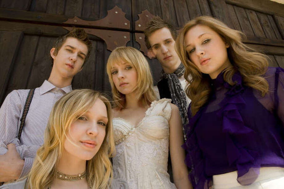 Eisley, the Tyler-based family band, has a new album out called Combinations. Photo: Warner Bros.