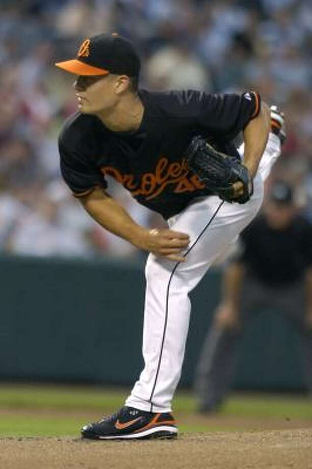 Orioles' Jeremy Guthrie willingly gave up his sport for two years to serve as a Mormon missionary. Photo: GAIL BURTON, ASSOCIATED PRESS