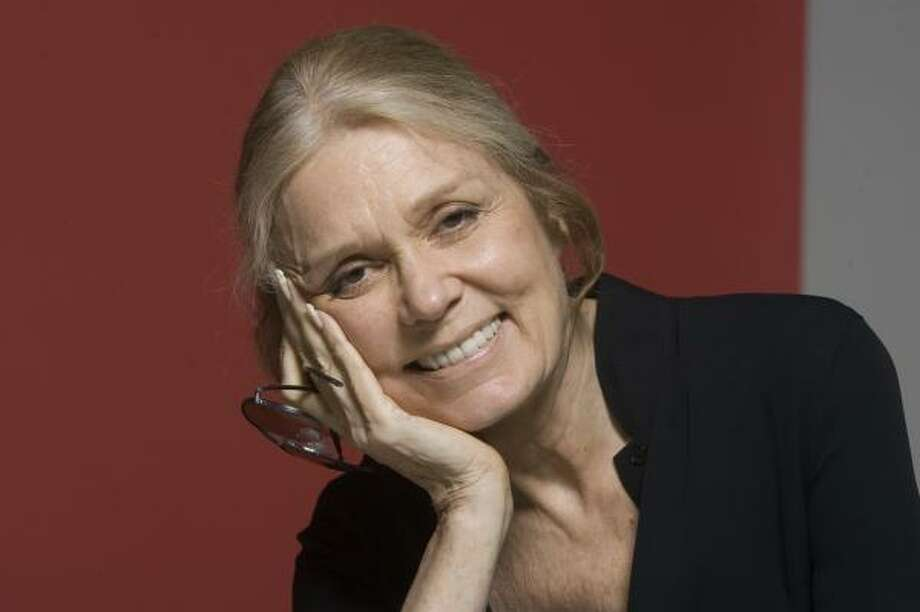 Gloria Steinem, 73, is still an advocate for women's rights. Photo: BILLY SMITH II, CHRONICLE