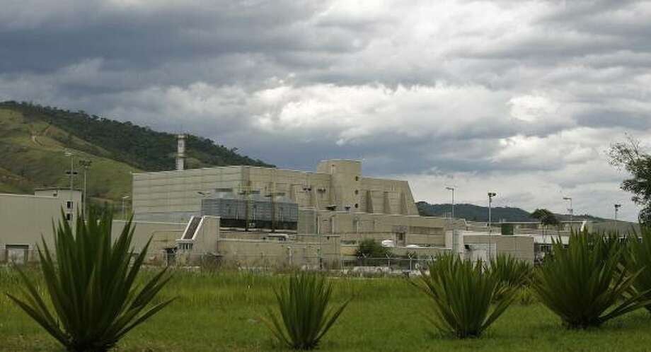 Brazilian Nuclear Industries, in Resende, northwest of Rio de Janeiro, enriches uranium but does not worry nuclear watchdogs because of its history of cooperation and openness with inspectors. Photo: RICARDO MORAES, ASSOCIATED PRESS