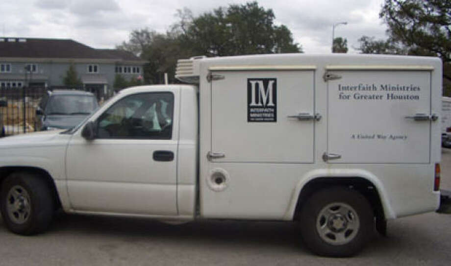 The stolen Meals-on-Wheels truck is similar to this one. Photo: Handout