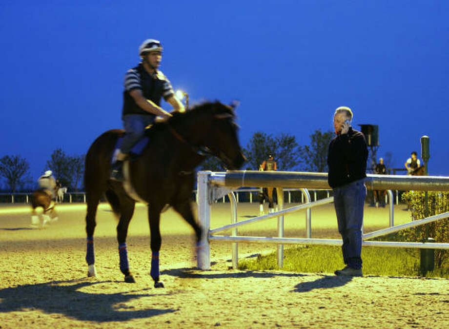 In the 2005 season, Todd Pletcher horses earned more than $20.8 million in purses, surpassing the previous record of $19.1 million set by Hall of Famer Bobby Frankel. Photo: Ed Reinke, AP