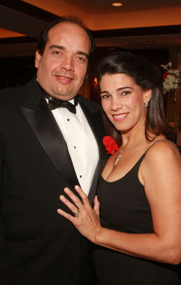 Eduardo and Mariolga Parra Photo: Gary Fountain, For The Chronicle