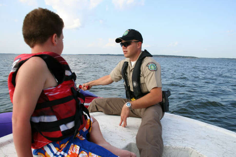 One of the more common Personal Watercraft safety violations is operators under the age of 13. Children under 13 are prohibited from operating a PWC unless accompanied by a person at least 18 years of age. Photo: Tom Behrens, For The Chronicle