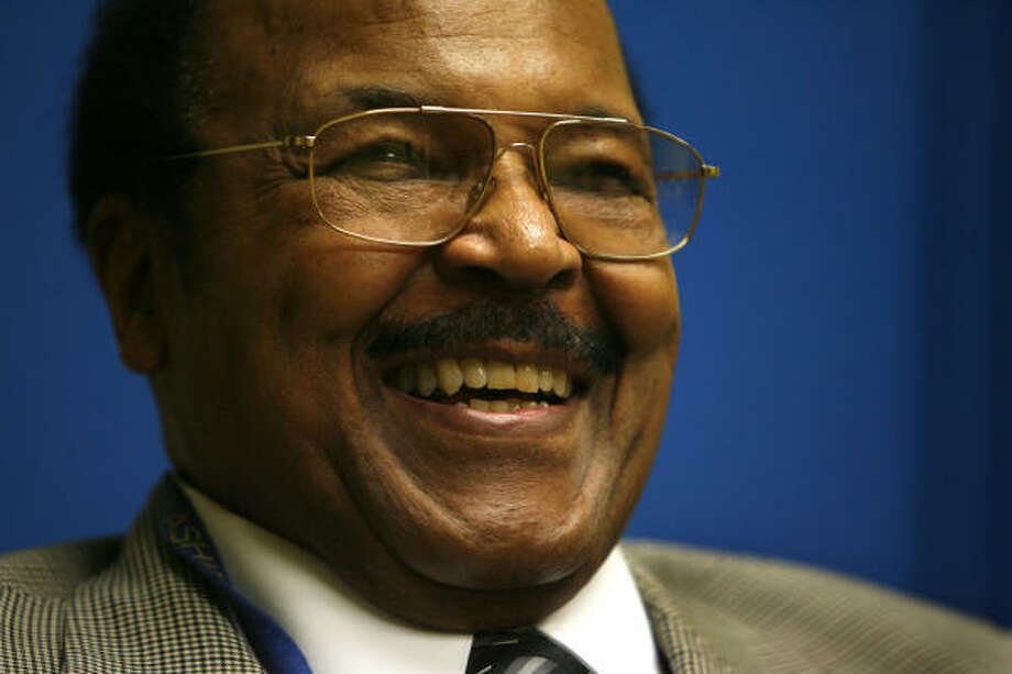 """Franklyn D. Wesley was called """"a giant of education in Houston."""" Photo: Carlos Antonio Rios, Houston Chronicle"""