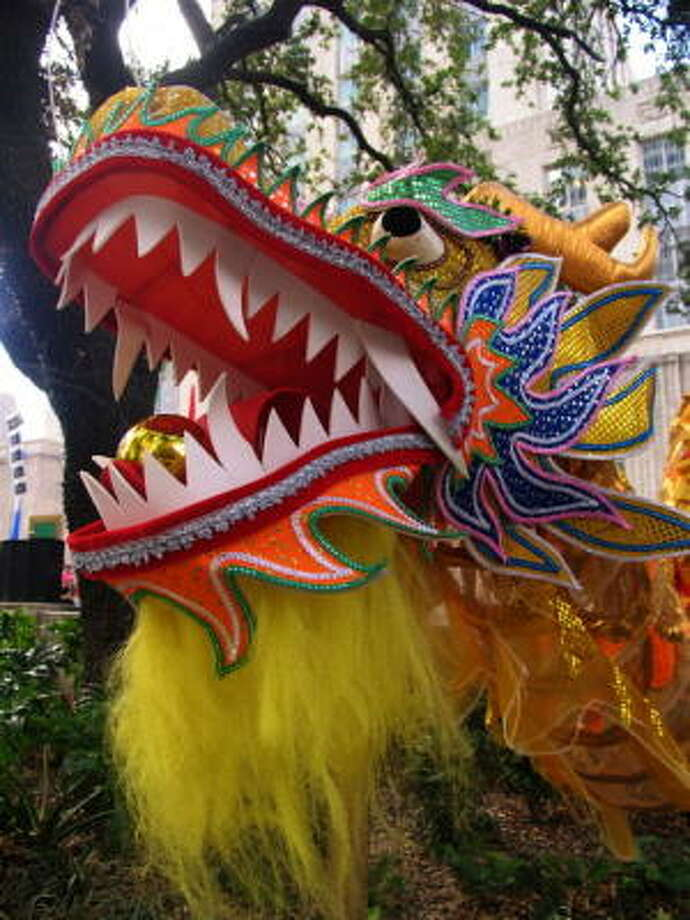 Colorful costumes marked the 29th annual Asia Festival. Photo: Jordan Graber, For The Chronicle