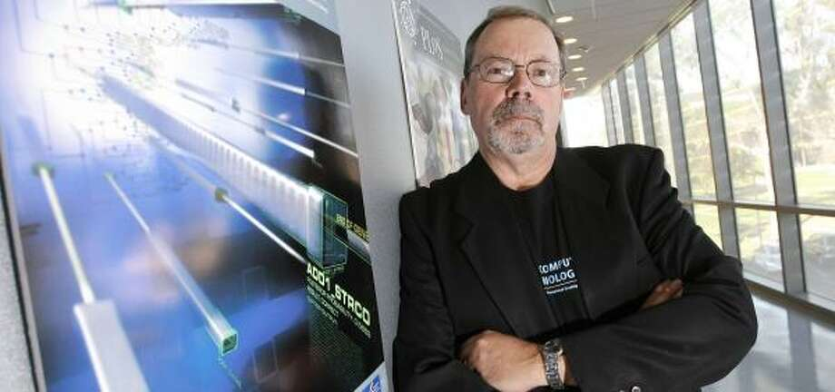 Phil Bourne, a pharmacologist at the University of California at San Diego, launched SciVee after seeing his students hooked on YouTube. Photo: DENIS POROY, ASSOCIATED PRESS