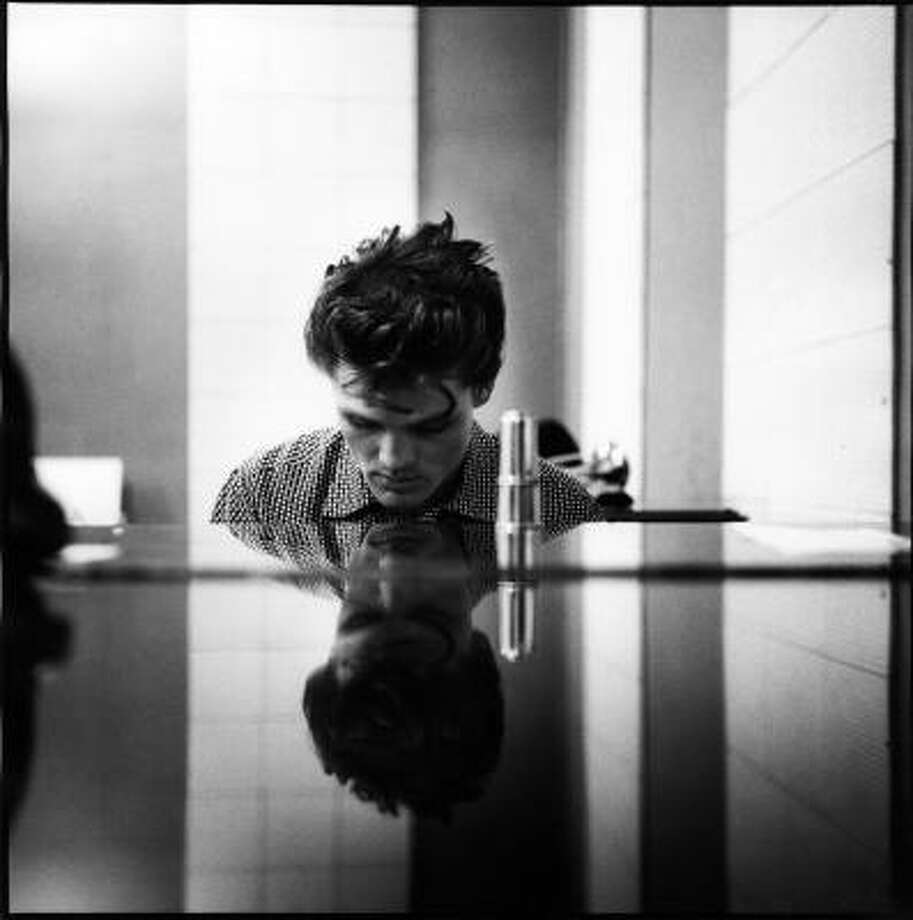 This photo released by Christopher Claxton and taken by William Claxton shows Chet Baker, in the Hollywood section of Los Angeles in 1954. Claxton died of complications stemming from congestive heart failure, his son Christopher said. Photo: William Claxton, Courtesy Of Christopher Claxton, ©William Claxton