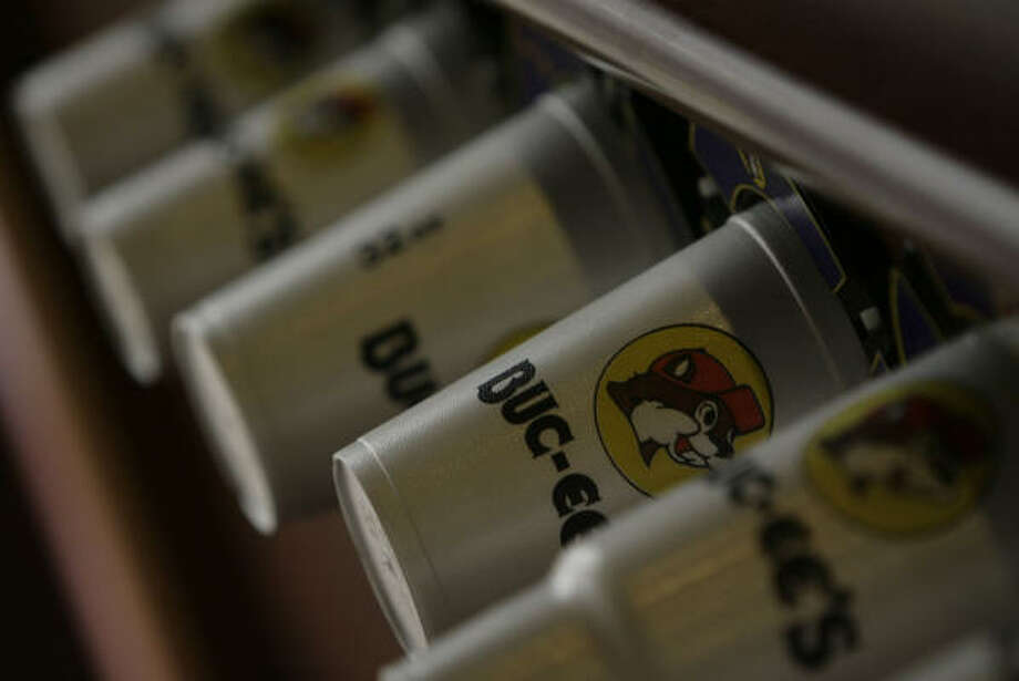 Coffee: It's the life blood of road trips, and Buc-ee's has plenty of it. They also have a huge selection of flavored creamers, which even includes your favorite candy flavors. What more could caffeine lovers ask for? Photo: Julio Cortez, Chronicle