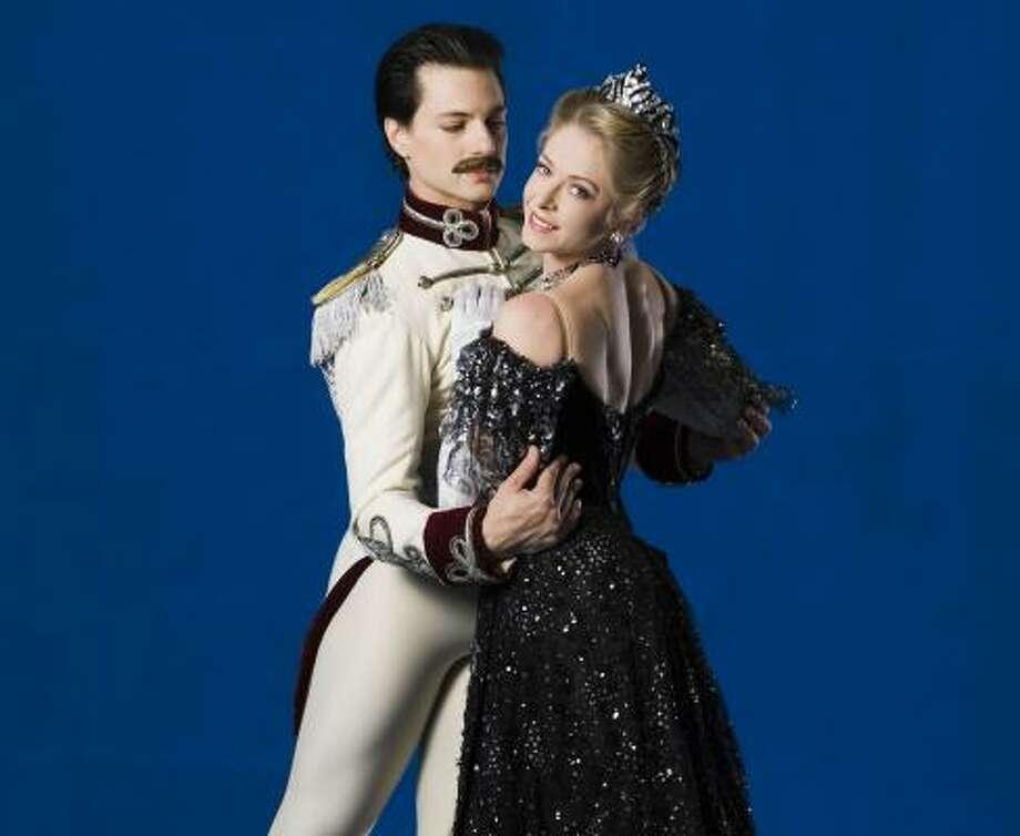 Houston Ballet's Barbara Bears will perform the part of Hanna in The Merry Widow. Photo: Amitava Sarkar, Houston Ballet