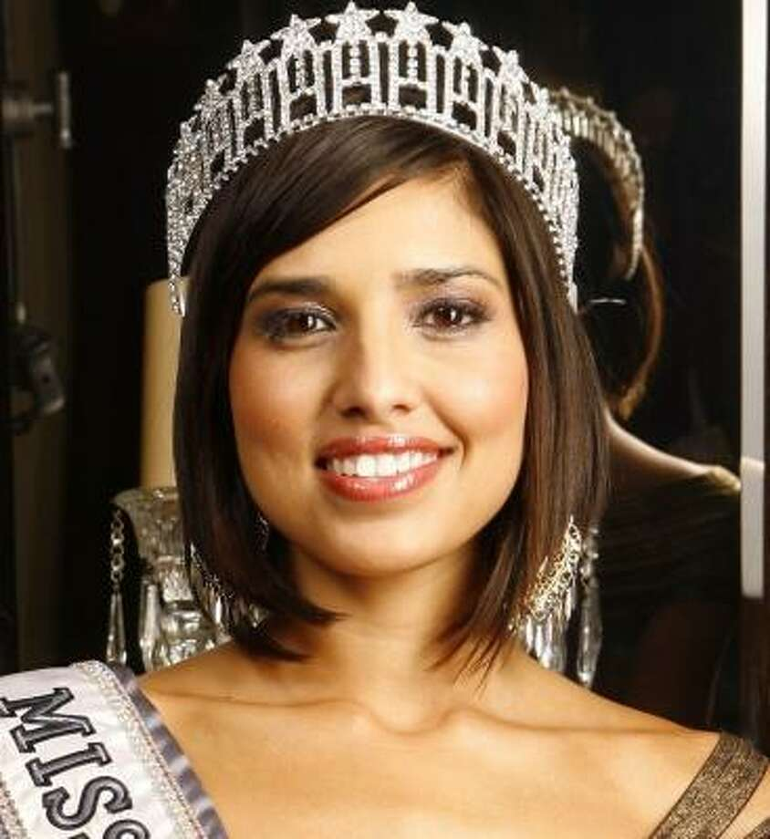 Christina Silva was crowned Miss California after an accounting error. Photo: Damian Dovarganes, Associated Press