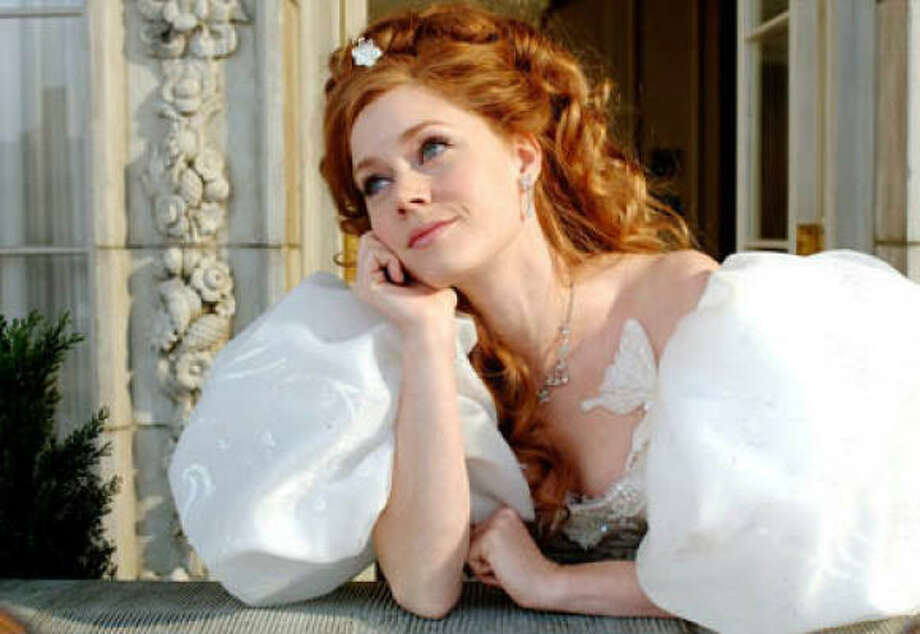 Princess Giselle (Amy Adams) is thrust into present-day New York in the Disney fairytale Enchanted. Photo: Walt Disney Pictures